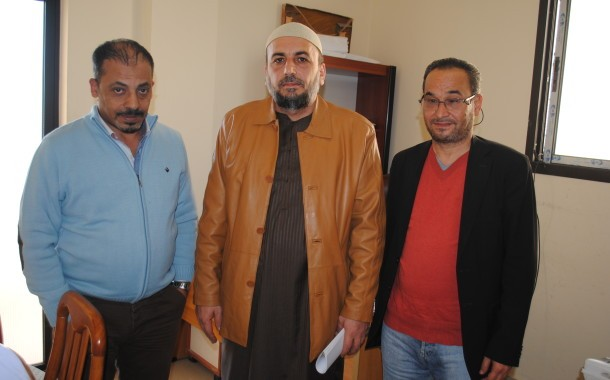 الشيخ إياد دهشة يزور جمعية ناشط
