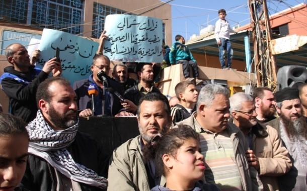 كلمة الحراك الشعبي في  مسيرة تشييع الضمير العالمي التي ألقاها الدكتور ظافر الخطيب