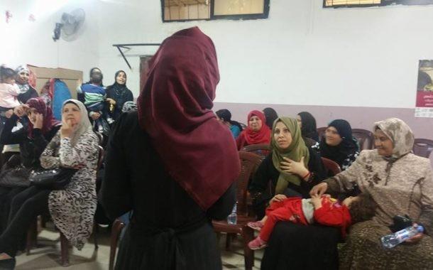 نادي بنات فلسطين ينظم ورشة عمل حول صحة الطفل