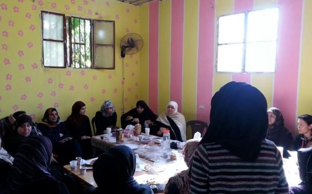 اجتماع لاهالي منتسبات نادي بنات فلسطين