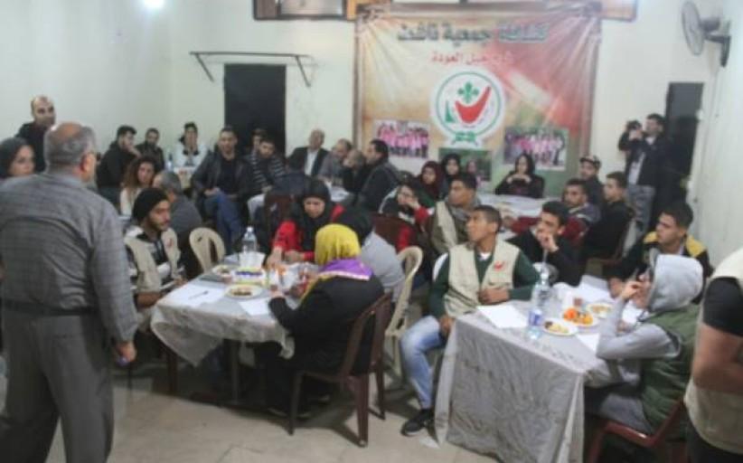 فريق شعلة ناشط جلسات مقهى الحوار الشبابي لعام 2017