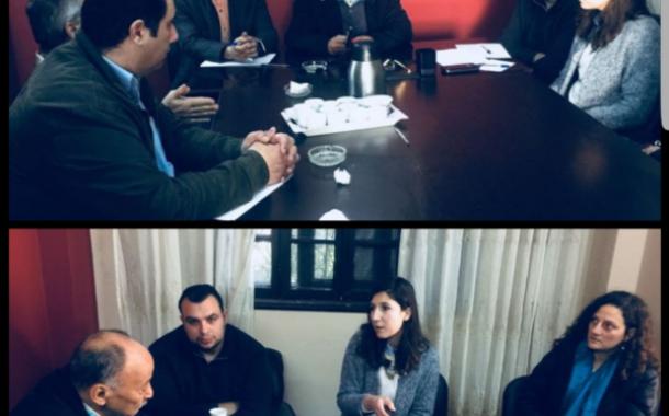 اجتماع مع المجلس النرويجي للاجئين ( NRC ) لمناقشة وضع الاجئ الفلسطيني وتقليصات الانروا