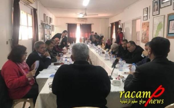 المؤتمر الشعبي يعقد طاولة مستديرة في لبنان تناقش أوضاع اللاجئين في ظل غياب