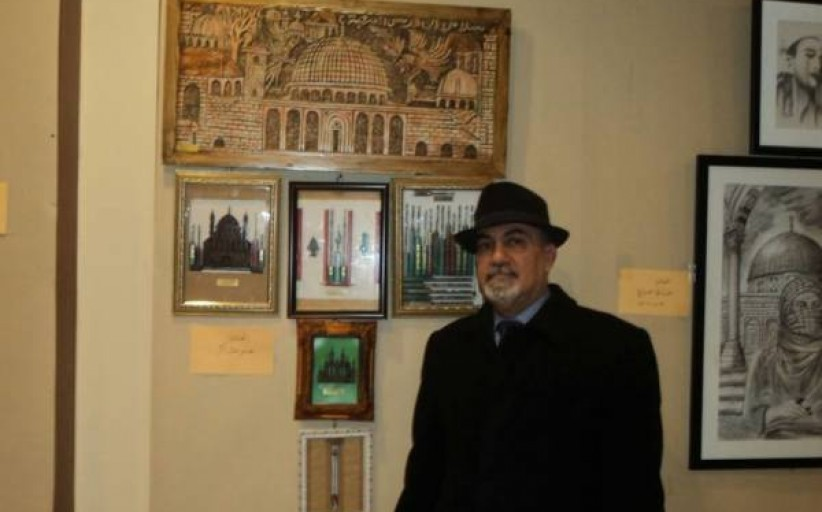 شاكر : القدس تجسد أبرز لوحاتي ومنحوتاتي