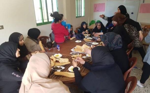 جلسة حوارية عن تاريخ فلسطين لأهالي المنتسبين