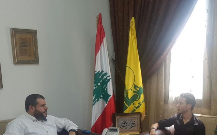 شعلة ناشط يلتقي حزب الله في صيدا