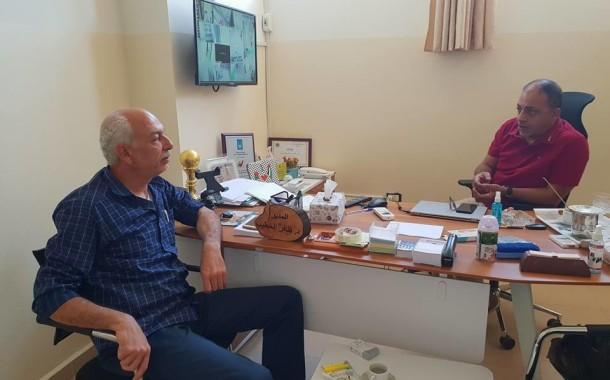 جمعية الصداقة الفلسطينية الإيرانية - لبنان في زيارة لجمعية ناشط الثقافية الاجتماعية