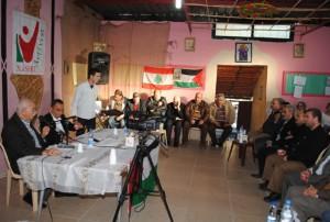 اللاجئون الفلسطينيون في لبنان مخاطر وتحديات 24-12-201446